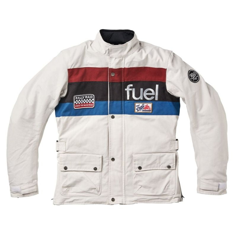 FUEL - RALLY RAID - WHITE JACKET