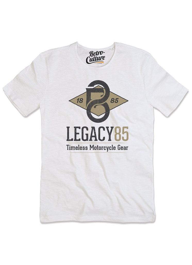 Legacy85 T-shirt      Mens - White
