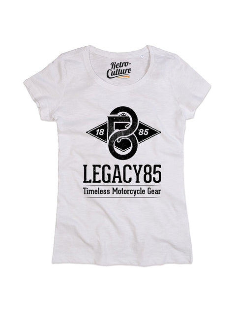 Legacy85 T-shirt   Ladies - Artic White