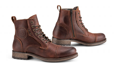 Kaspar Leather Motorcycle Boots