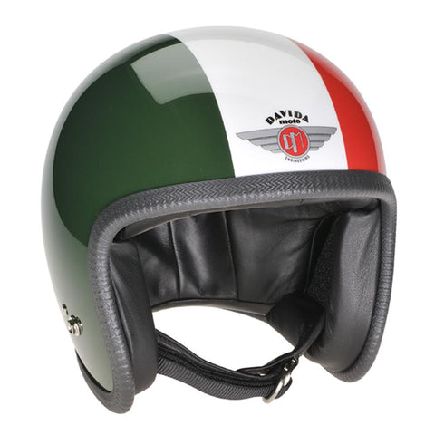 Green White Red Davida Speedster v3 Helmet 93290