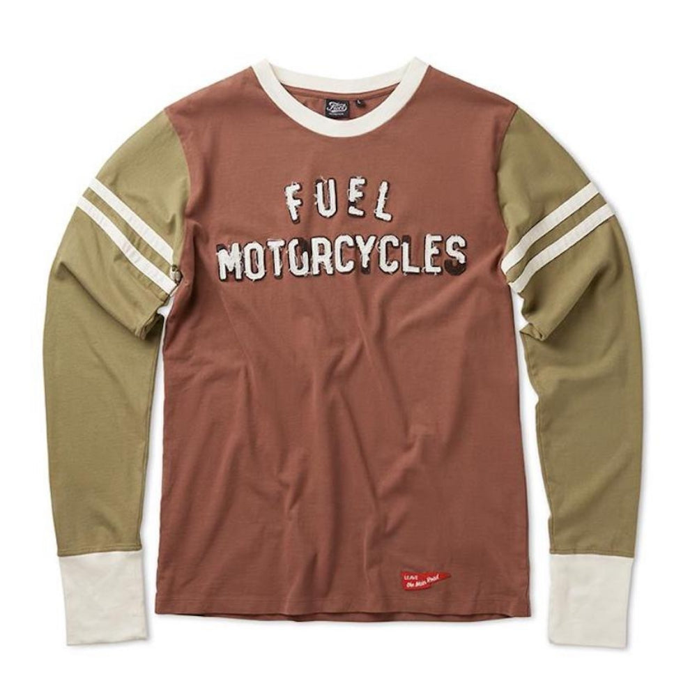 Fuel Motorcycles - OLD SCHOOL- Long sleeve Shirt