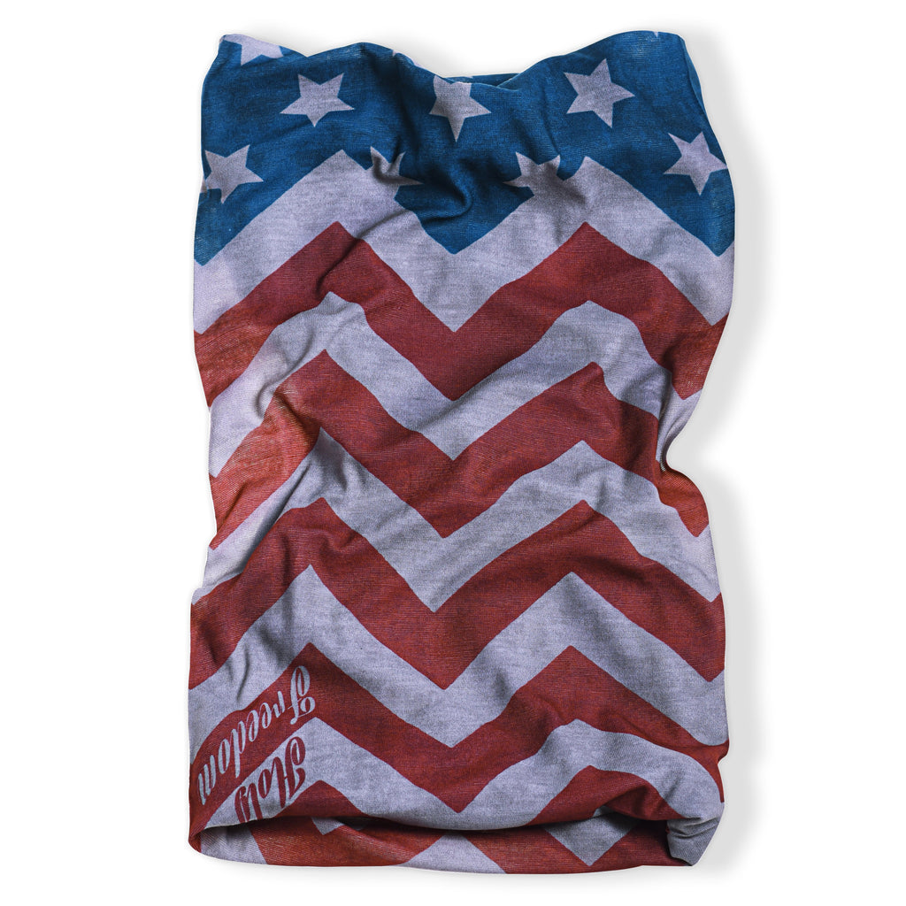 Holy Freedom America Custom Motorcycle Bandana Tube