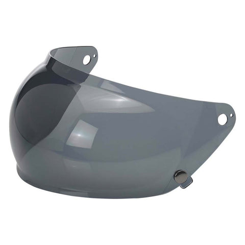 Biltwell Gringo S Bubble Visor - Smoke - Anti Fog