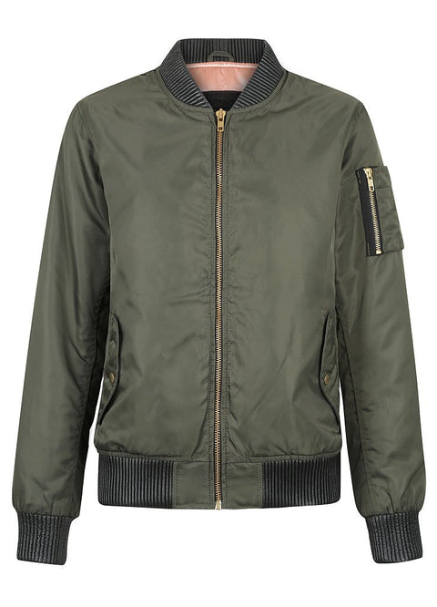 Black Arrow Glory Bomber Ladies Motorcycle Jacket