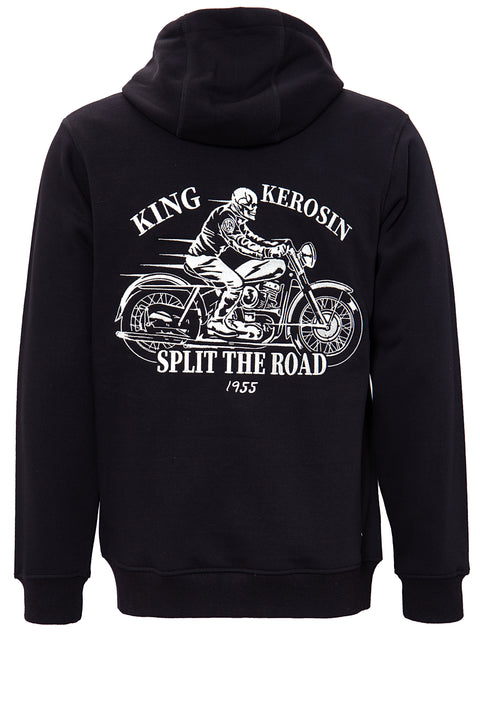 King Kerosin - Split the Road - Black Hoodie