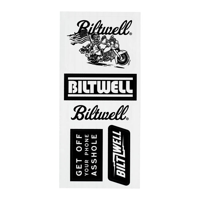 Biltwell Sticker Sheet