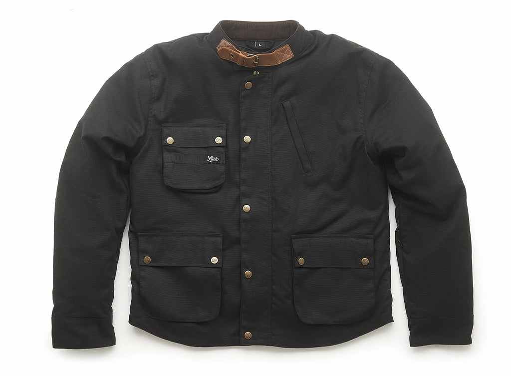 Fuel Division 2 Motorcycle Jacket - Black