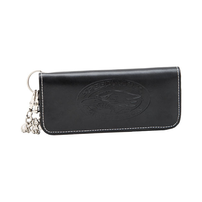 King Kerosin - Black Leather Wallet