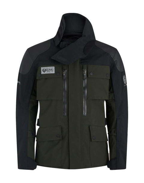 Belstaff - Long Way Up - Gore-Tex Jacket - Dark Olive/Black