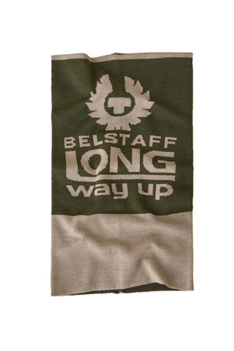 Belstaff - Long Way Up - Neck Warmer - Olivine/Putty