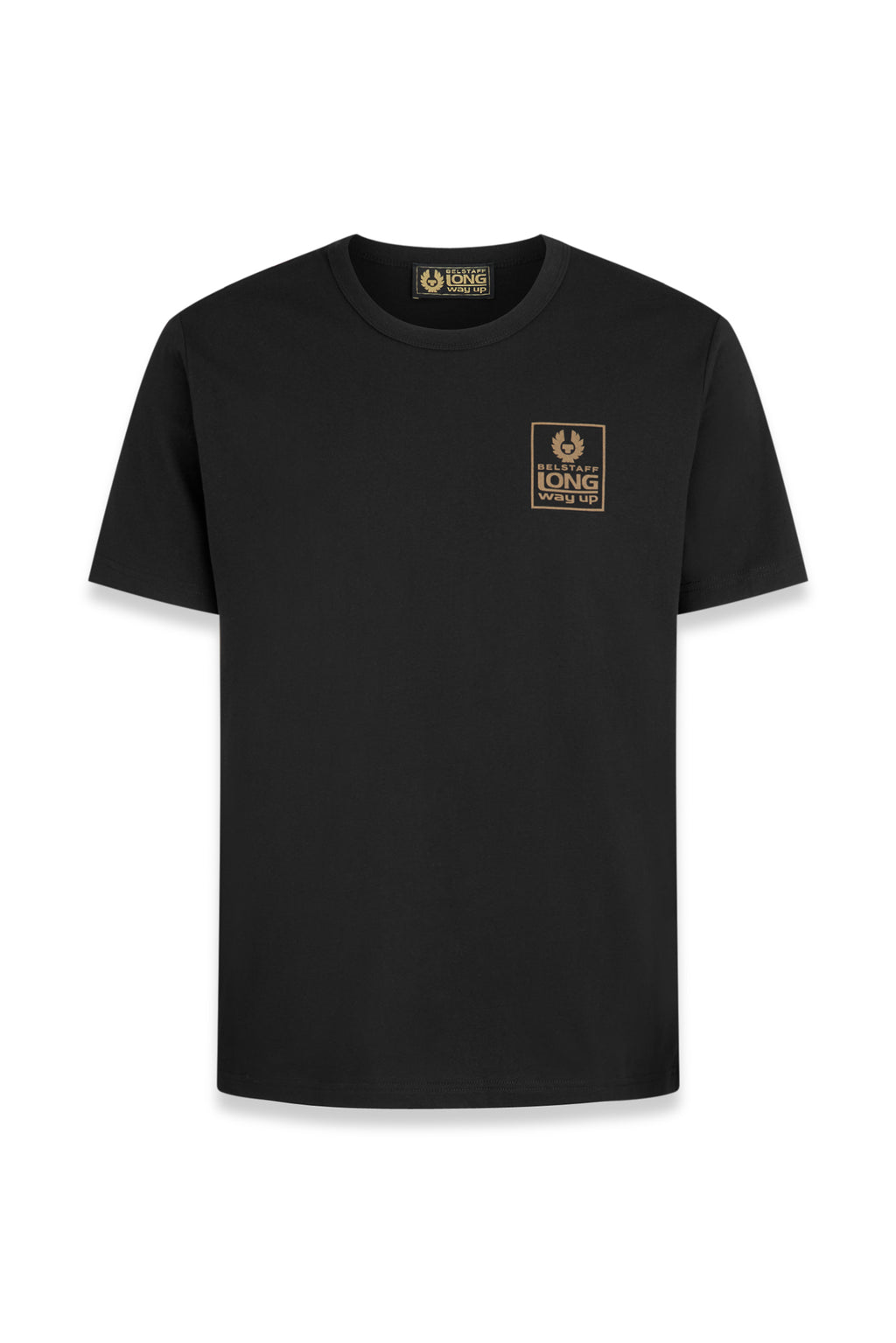 Belstaff - Long Way Up - Small Logo T-shirt - Black