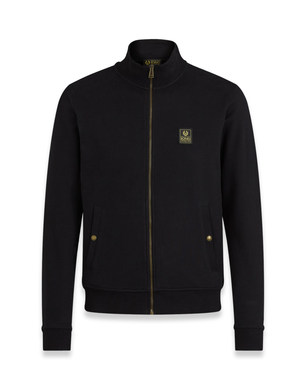 Belstaff - Long Way Up - Zip Through Fleece - Black