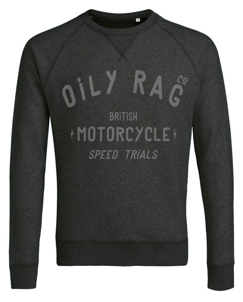 Oily Rag Clothing Men's 'British Motorcycle Trials' Sweat Shirt