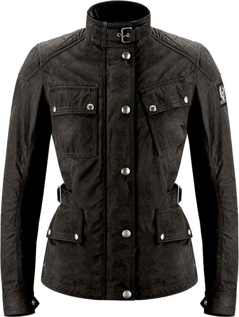 Belstaff Phillis 2 Ladies Motorcycle Waxed Jacket