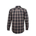 Resurgence Armoured Riding Shirt - Black & Grey Check