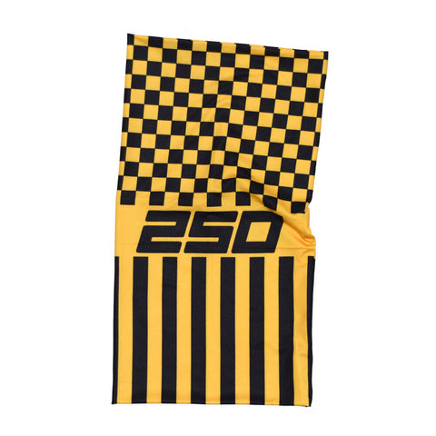 250London Neck Warmer Tubes - Taxi Patch Yellow