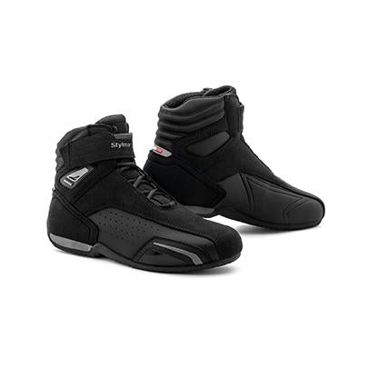 Stylmartin Vector Air Sport U Motorcycle Boot in Black and Anthracite