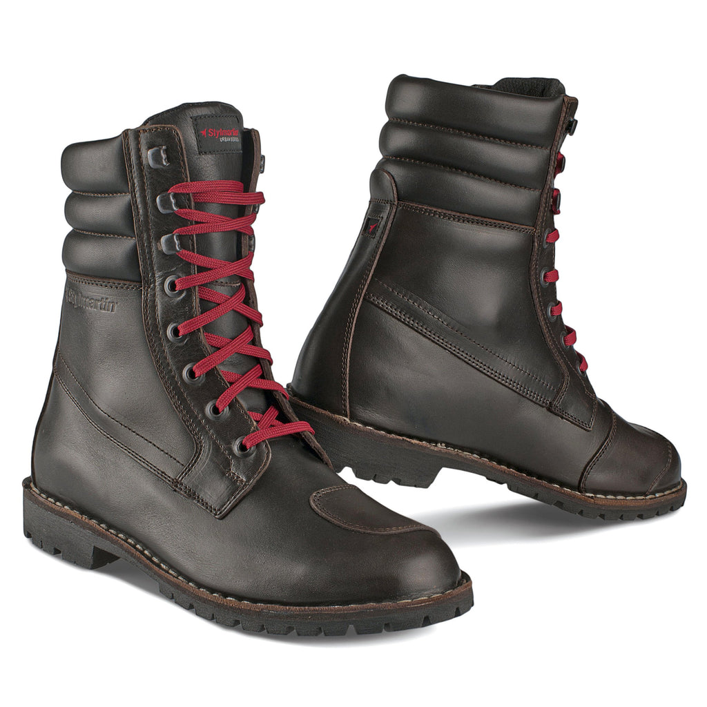 Stylmartin Yu'Rok Urban Motorcycle Boot in Brown