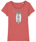 C90 Cub Double Sided Organic Cotton Ladies T-Shirt