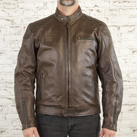 Age of Glory - Rogue Leather Jacket - Brown