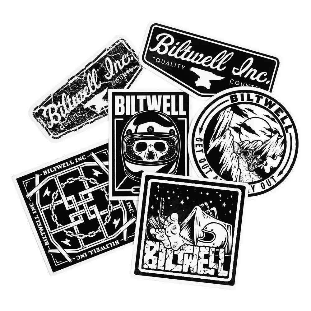 Biltwell Sticker Packs