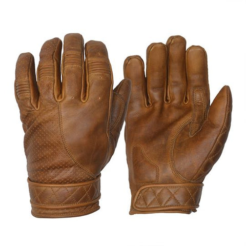 GOLDTOP - Short Bobber Gloves - Brown