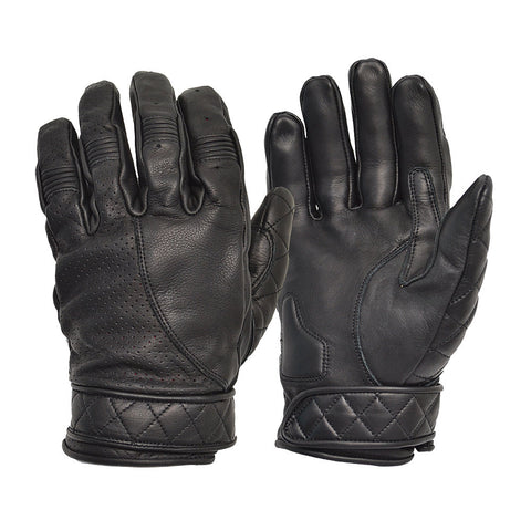 GOLDTOP - Short Bobber Gloves - Black