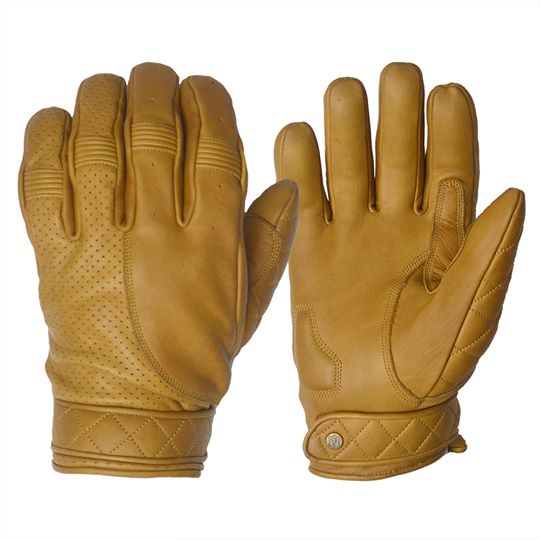 GOLDTOP - Short Bobber Gloves - Waxed Sand