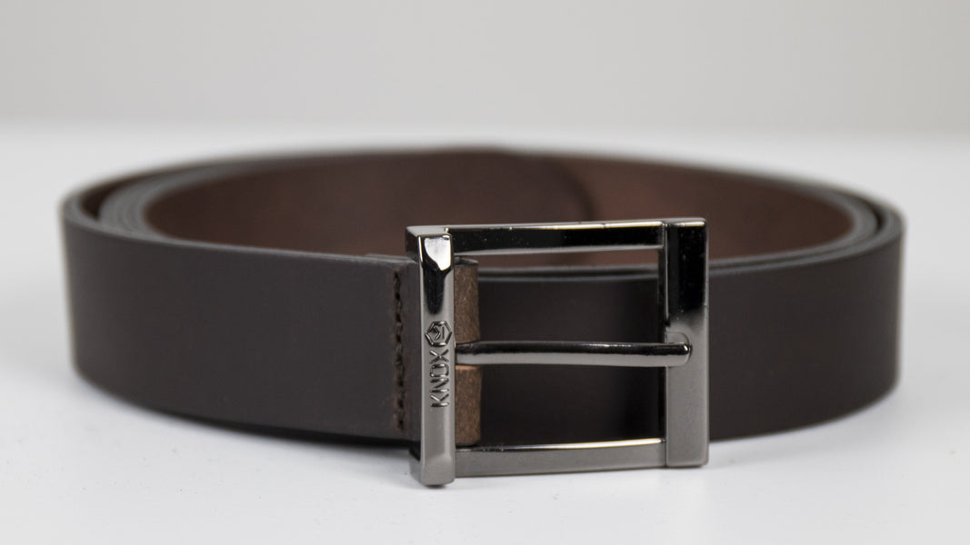 KNOX Leather Belt - Mens