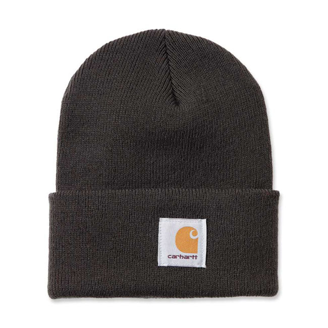 Carhartt Rib Knit Beanie - Dark Green