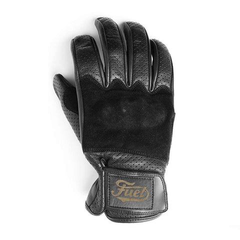 Fuel Rodeo Gloves - Black Leather