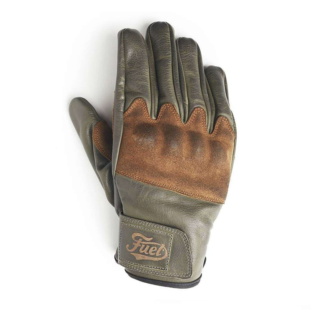 Fuel Rodeo Gloves - Olive Leather