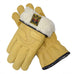 GOLDTOP - Merino Wool Lined Tan Leather Cruiser Glove