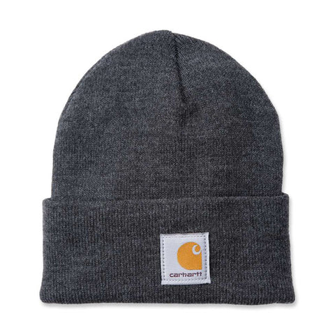 Carhartt Rib Knit Beanie - Coal Heather