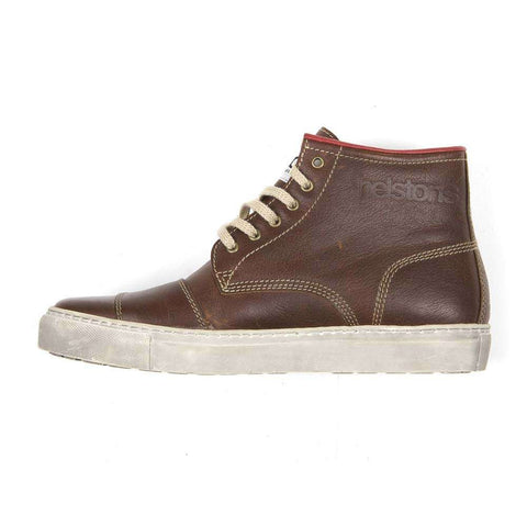 Helstons Basket C5 Leather Boot - Brown