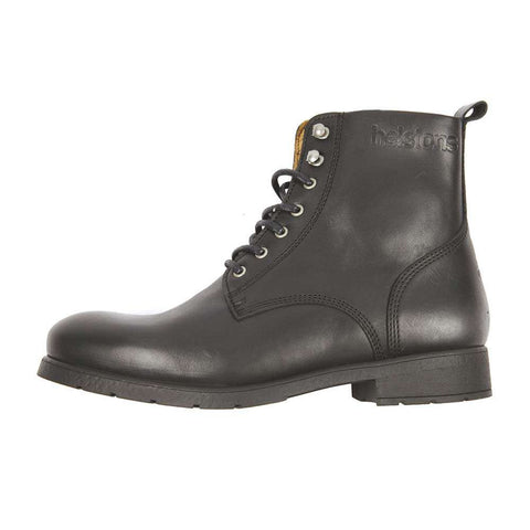 Helstons CITY Leather Motorcycle Boot - Black