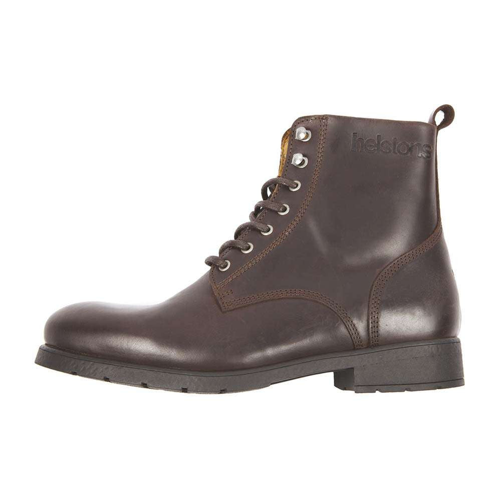 Helstons CITY Leather Motorcycle Boot - Brown