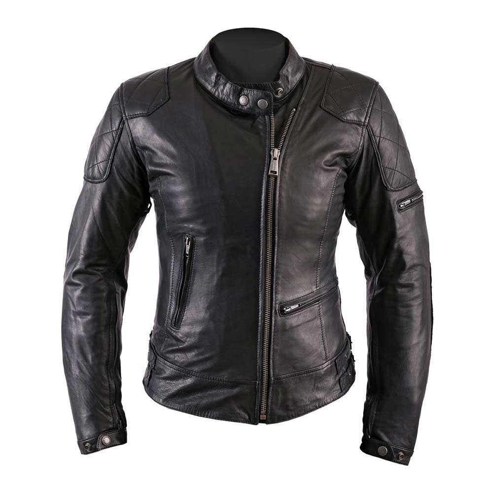 Helstons KS70 Ladies Leather Motorcycle Jacket