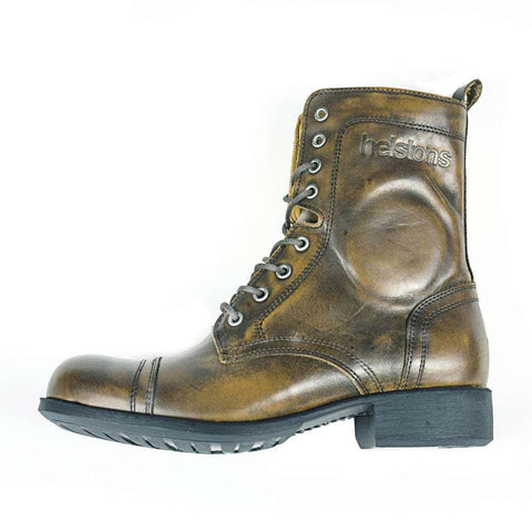 Helstons LADY motorcycle boot - Aged brown