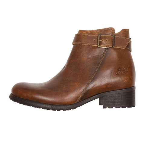 Helstons LISA ladies motorcycle boot - brown