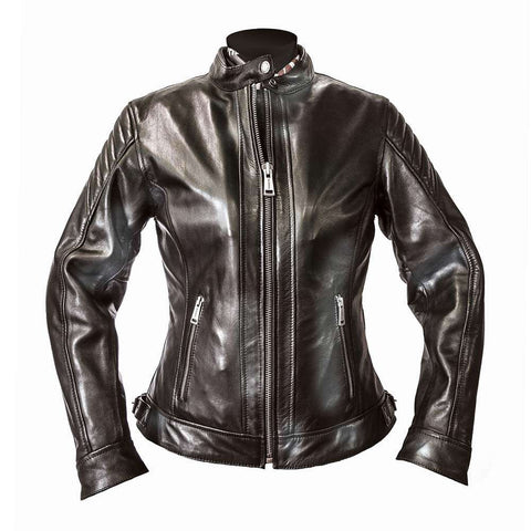 Helstons STAR Ladies Soft Leather Motorcycle Jacket