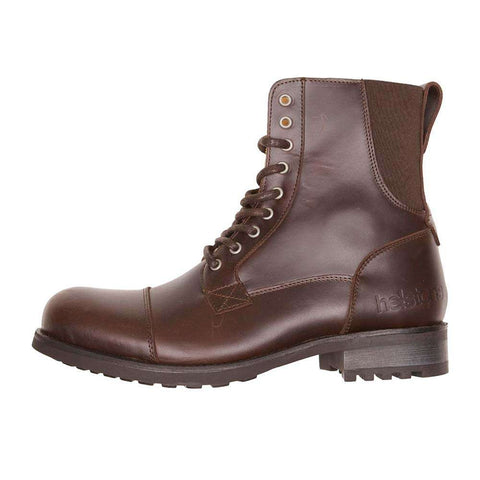 Helstons STEVE Leather Motorcycle Boot - Brown
