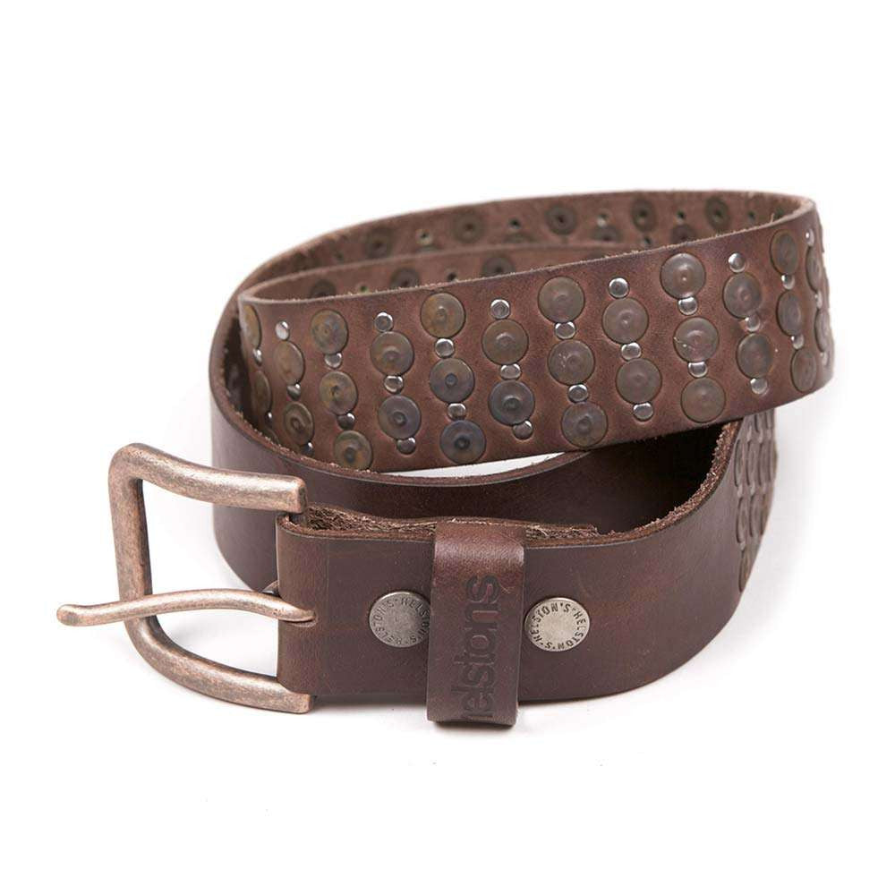 Helstons Studded Leather Belt