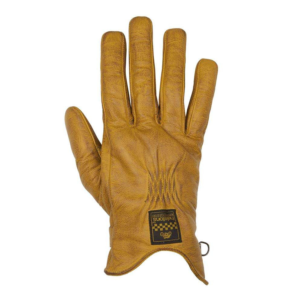 Helstons SWALLOW Ladies Leather Summer Motorcycle Glove - Gold