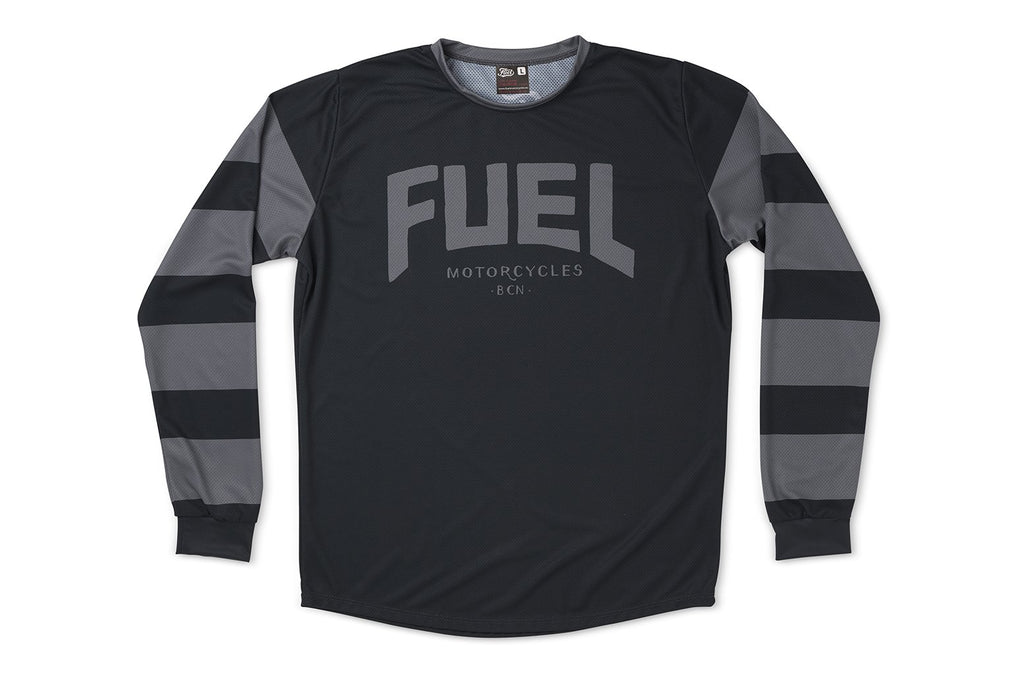"FUEL - ""Grey Strips"" Enduro Jersey"