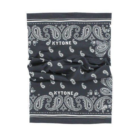 Neck Tube/Scarf KYTONE - Paisley Black
