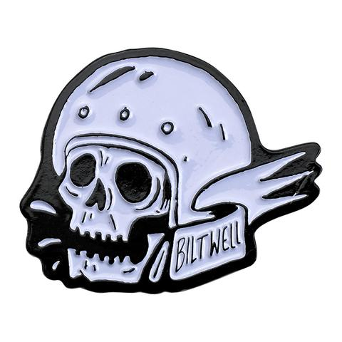 Biltwell Enamel Pin Badge - Skull