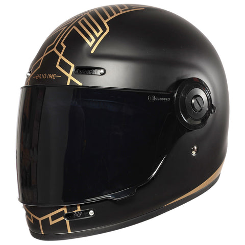 Origine Vega Motorcycle Helmet - Limited Edition Ten Black