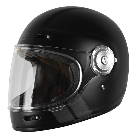 Origine Vega Motorcycle Helmet - Stripe Black
